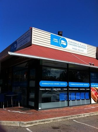 Evandale Chicken And Seafood - Pubs Perth